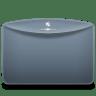 Folder-Color-Grey-Blue icon
