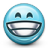 Emoticon Big Grin Grinning Smiling Lol icon