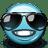Emoticon Cool Sunglasses icon