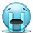 Emoticon Crying Tears River icon