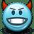Emoticon-Devil-Devilish-Evil icon
