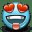 Emoticon-Love-Heartshaped-Eyes icon