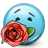 Emoticon-Rose-Gift-Love icon
