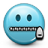 Emoticon Secret Silent icon