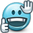 Emoticon Thumbs Supportive icon