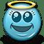 Emoticon Angel Saint Virgin icon