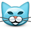 Emoticon Cat Kitty Pussycat icon
