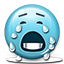 Emoticon Crying icon