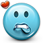 Emoticon Flirty Love icon