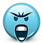 Emoticon-Mad-Screaming icon