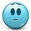 Emoticon Surprised Shocked icon