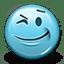 Emoticon Wink icon