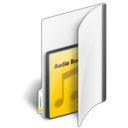 Folder Audio Book icon
