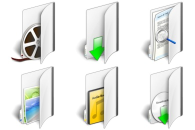 Longhorn Folders Icons