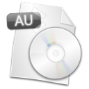 Filetype AU icon