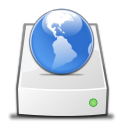 Drive Network copy icon