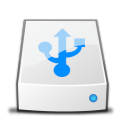 Drive USB copy icon