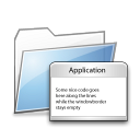 Folder apps copy icon