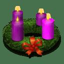 Advent Wreath icon