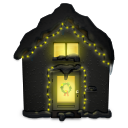 Snowy House Dark icon