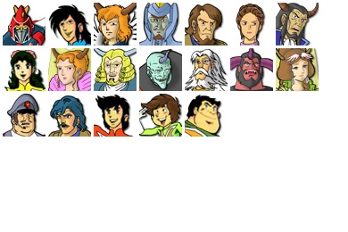 Voltes V Dark And Light Icons
