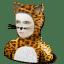 Cat costume icon