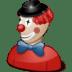Clown-costume icon