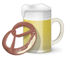 Beer And Pretzel icon