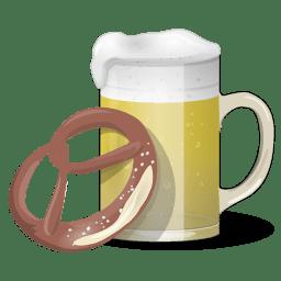 Beer And Pretzel icon