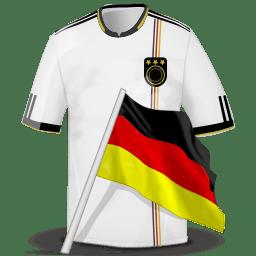 Soccer shirt germany icon