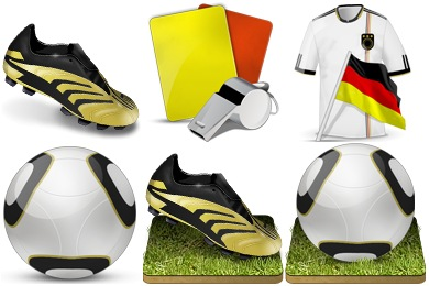 Soccer Worldcup 2010 Icons