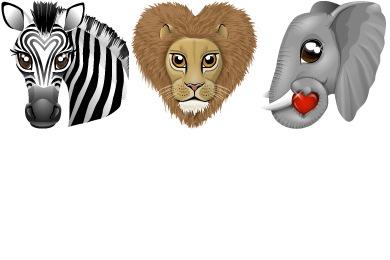 World Animal Icons