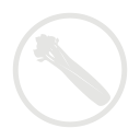 Celery allergy grey icon