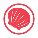 Molluscs allergy red icon