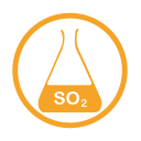 Sulphurdioxide allergy amber icon