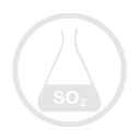 Sulphurdioxide allergy grey icon