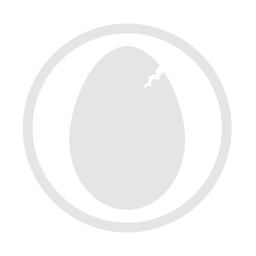 Eggs allergy grey icon
