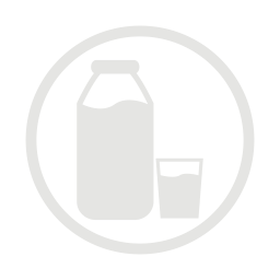 Milk allergy grey icon