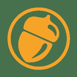 Treenut allergy amber icon