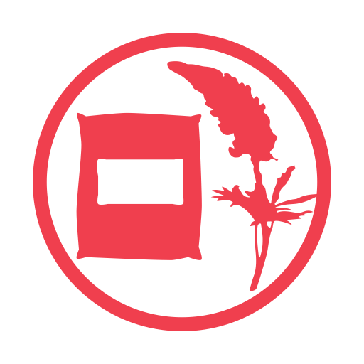 Lupin allergy red icon