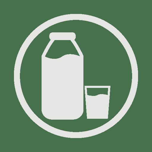 Milk-allergy-grey icon