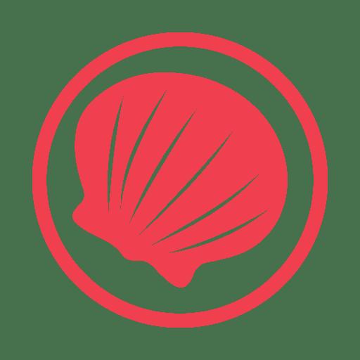 Molluscs-allergy-red icon