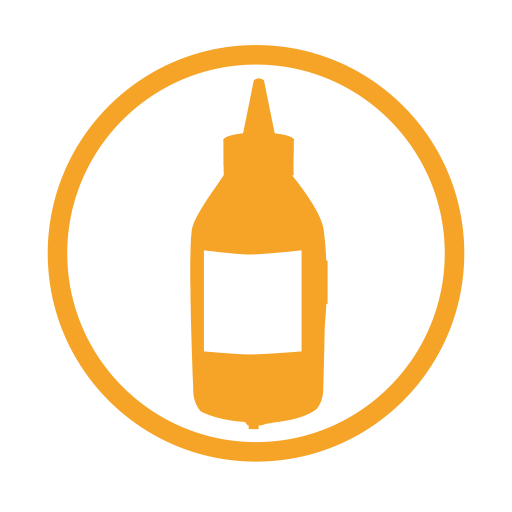 Mustard-allergy-amber icon