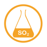 Sulphurdioxide-allergy-amber icon