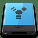 Blue Firewire B icon