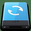 Blue Sync W icon