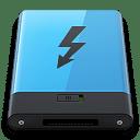 Blue Thunderbolt B icon