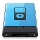 Blue iPod B icon