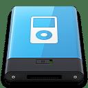 Blue iPod W icon