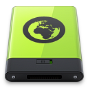 Green Server icon